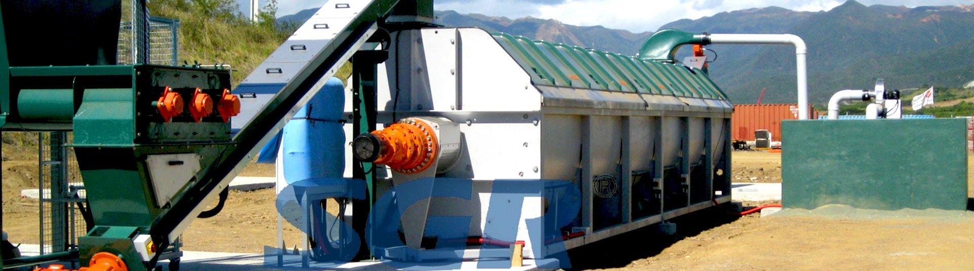 好氧倉式發酵系統攪拌減速機