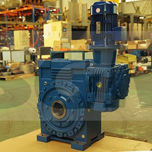 CDOA225C125雙級串接環面蝸桿減速器
